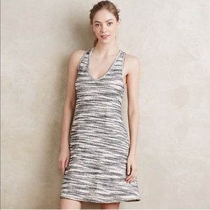 Anthropologie Art Dept. Stripe Sleeveless Dress